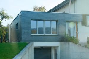 Erweiterung Einfamilienhaus mit Tiefgarage